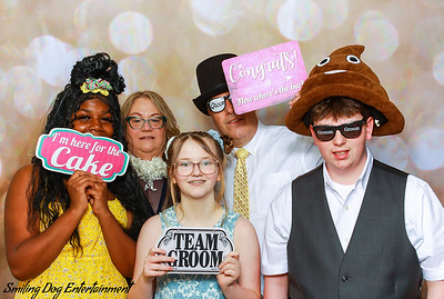 Clara and Joe's Wedding Reception Photo Booth Images