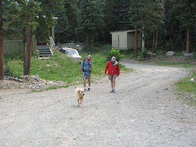 Taos Mountain--hike to Williams Lake
