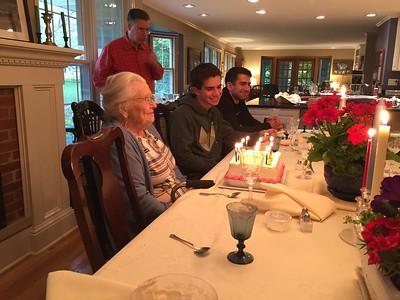 21 May 2017 Gramma Mary Birthday Party