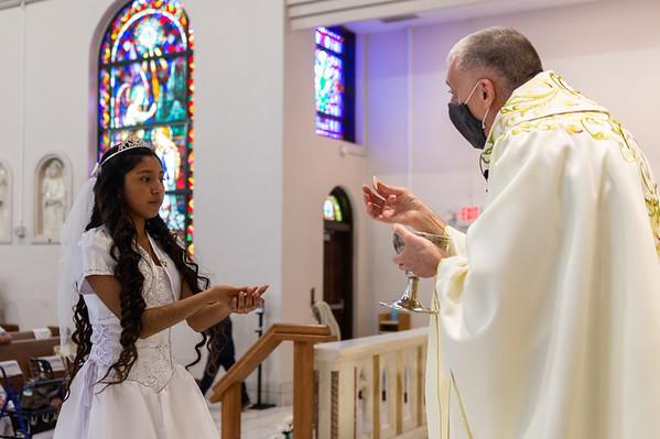 St Joseph Lakeland First Communion (11am Mass)