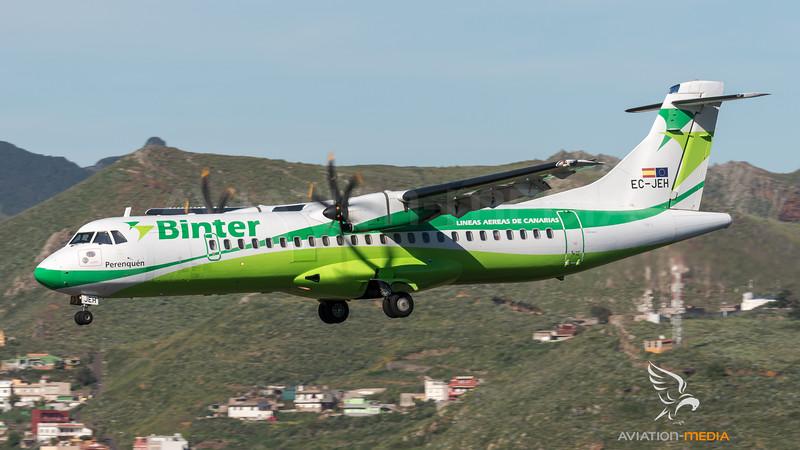 Binter Canarias / ATR 72-500 / EC-JEH