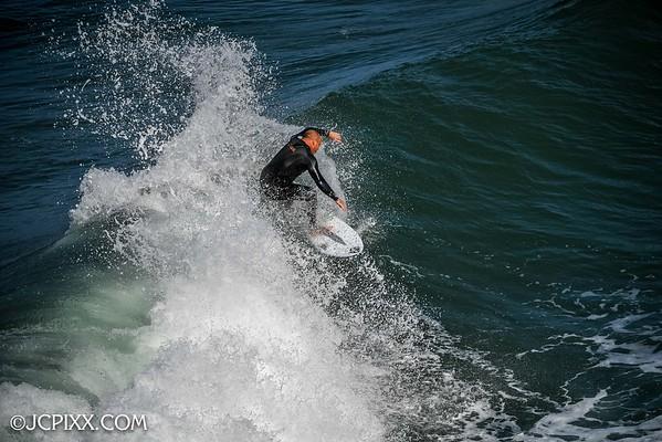 Surf shots at HB Pier