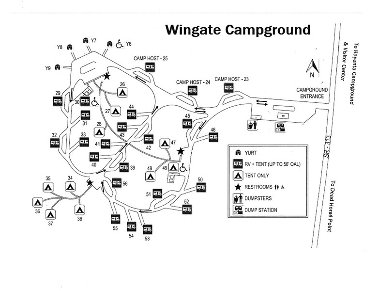 Dead Horse Point State Park (Wingate Campground)