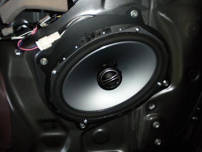 2011 Camry Front Door Speaker Installation