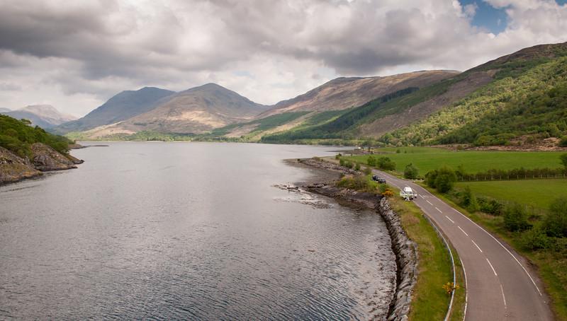 Upper Loch Creran and Beinn Sgulaird