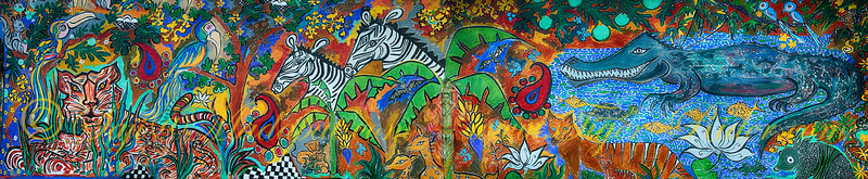 Lest we Forget - Vinodini's Murals Pano