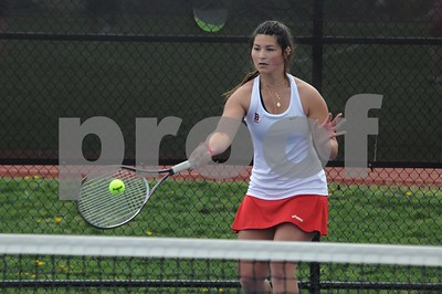 BHS GIRLS TENNIS VS NEWINGTON 4-19-21
