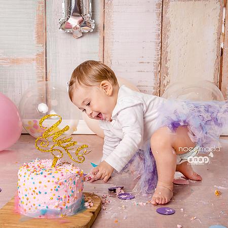 Emilia sesión smash cake