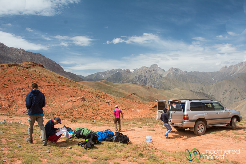 Trekking in the Alay Mountains, Kyrgyzstan