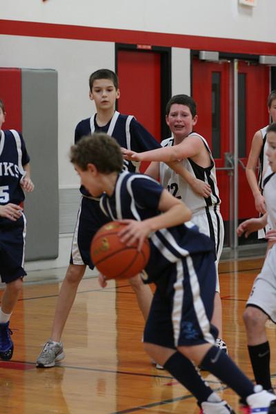 Carter 5th grade travel basketball 2011-2012