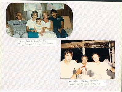 7-10-1988 Gary, Joyce, Ben & Susie Hamamoto
