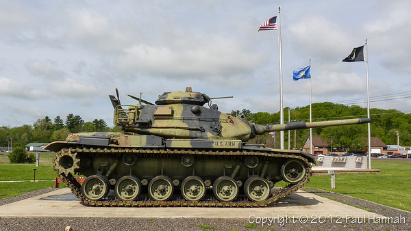 Veterans Park - Black River Falls, WI - M60A3, AH-1, French 75mm
