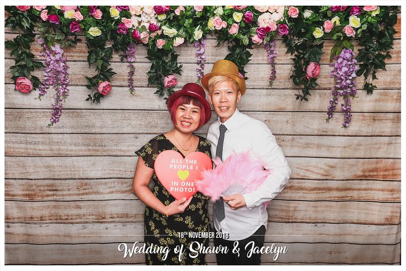 Wedding of Shawn & Jacelyn   © www.SRSLYPhotobooth.sg