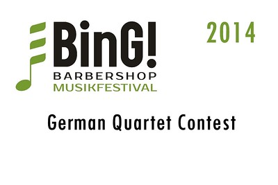 2014-0307 BinG! -German Quartet Contest