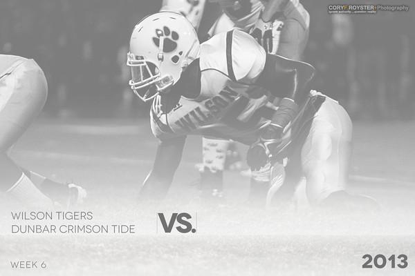 Wilson Tigers vs Dunbar game 1