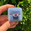1.71ctw Ruby and Diamond Trilogy Ring 38