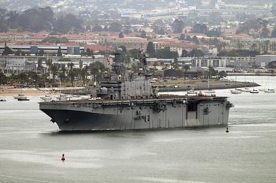 USS. Peleliu LHA-5