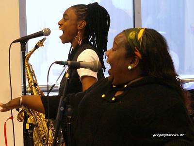 20170405-Lakecia Benjamin Band WBGO  38 yr Birthday Party