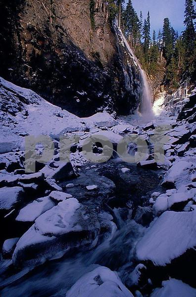 Narada Falls in Mount Rainier National Park.
