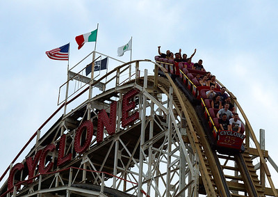 Coney Island Memorial Day Weekend 2012