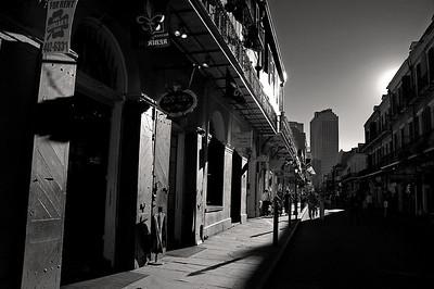French Quarter in B&W 1-13-2008
