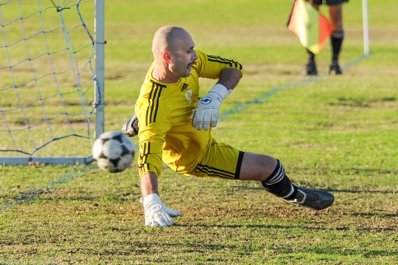 Goal for Riptide on penalty kick.