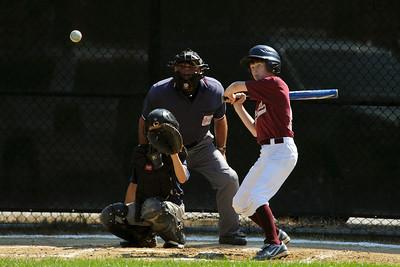 Summer Baseball Tyngsboro Tournament Chelmsford vs. Dracut July 18
