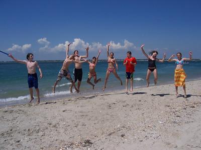 Middle School Beach Retreat