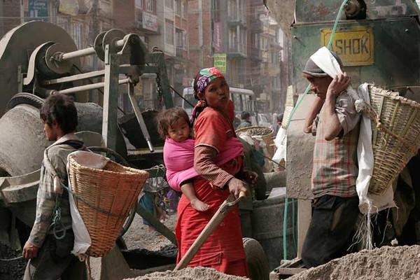 House builder, Kathmandu, Nepal