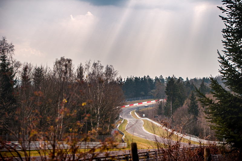Nürburgring Nordschleife - Downhill to Pflanzgarten