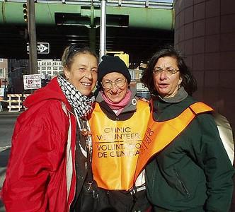 Woman's Choice demo. Photo supplied by Georgia Guida.