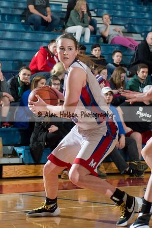 Ladies Varsity Basketball - Eaton Rapids at  Mason