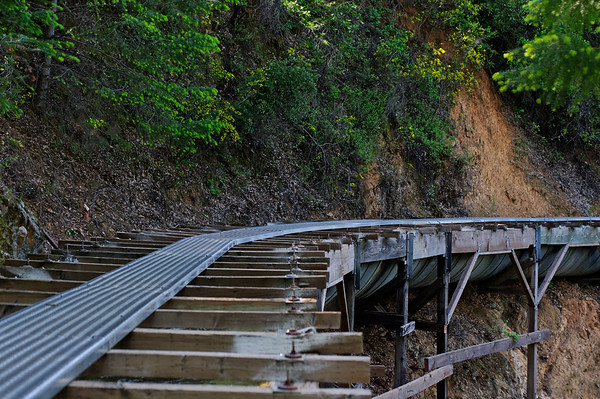 The Miocene Canal - PG&E Flumes