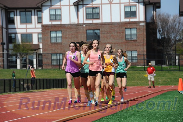 1500M Women, Gallery 2 - 2017 Golden Grizzly Invite