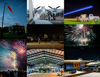 LINCOLNSHIRE AVIATION HERITAGE CENTRE NIGHT SHOW