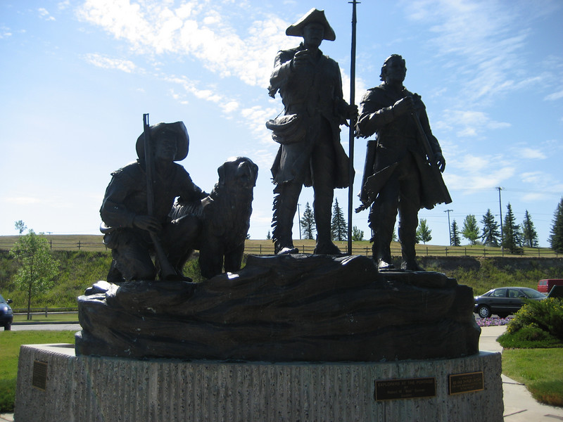 Lewis and Clark Statue in Great Falls