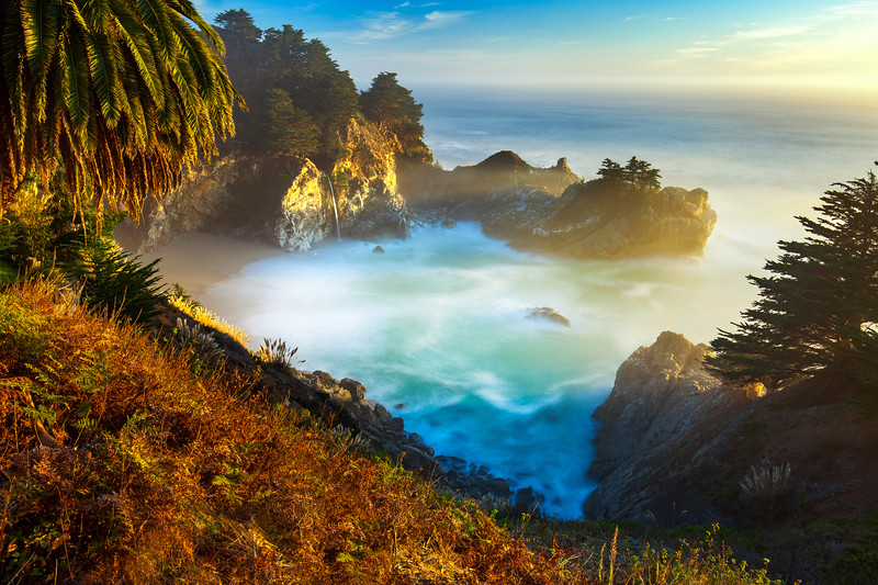 Landscape Photography at McWay Falls in Big Sur, California