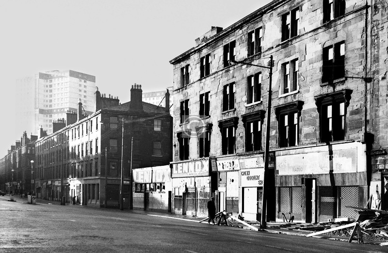 Crown St, west side, south of Ballater St.    January 1974