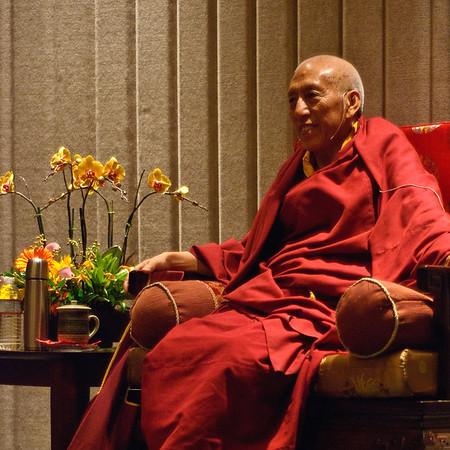 Samdhong Rinpoche - Prime Minister Tibetan Government in Exile