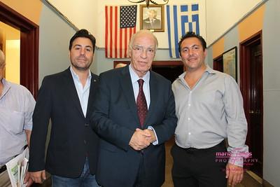 Leventis at Hellenic Federation New York