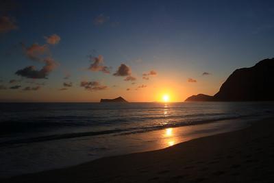 Sunrise in Waimanalo