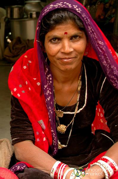 Waiting at the Market - Udaipur, India