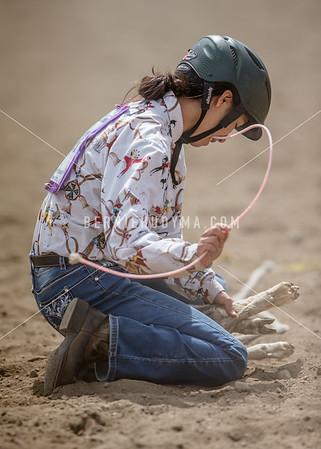 Goat Tying  JR  Boys & JR Girls
