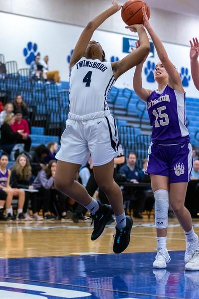 2020-01-22 -- Twinsburg Girls Varsity Basketball vs North Royalton High School Varsity Basketball
