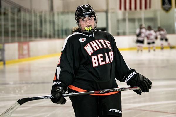 Girls Hockey JV -V- Stillwater