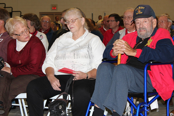 Veterans Day Program at Unicoi County Intermediate School