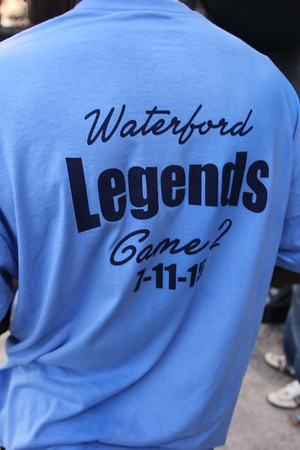 Alumni softball game in Waterford