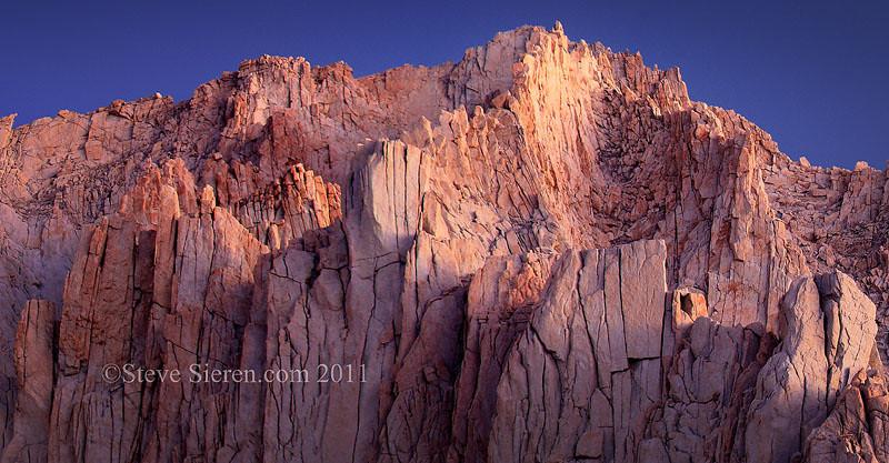 Mt Russle Eastern Sierra - John Muir Wilderness