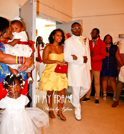 The Wedding Reception of Toya and Shamon Bufford