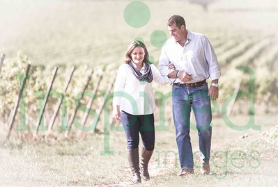 Suzie & Mark Engagement Shoot - Denbies Wine Estate